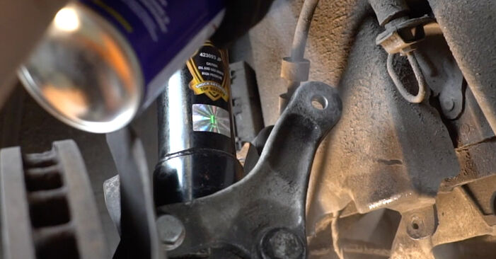 Changing Springs on BMW 5 Saloon (E60) 520i 2.2 2004 by yourself