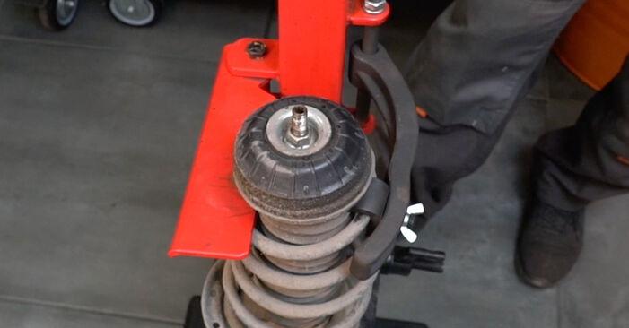 Sostituzione di FIAT GRANDE PUNTO 1.4 Molla Ammortizzatore: guide online e tutorial video