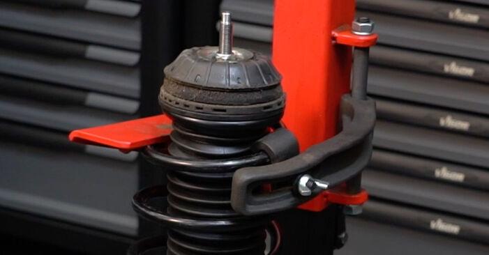 Не е трудно да го направим сами: смяна на Пружинно окачване на Fiat Punto 199 1.4 Natural Power 2014 - свали илюстрирано ръководство