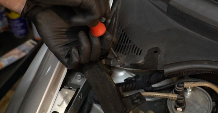 Как се сменя Пружинно окачване на FIAT GRANDE PUNTO (199) 1.4 16V 2011 самостоятелно