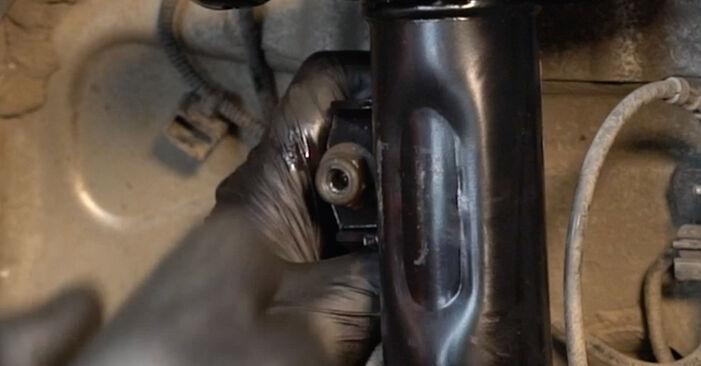 Смяна на Fiat Punto 199 1.4 2010 Пружинно окачване: безплатни наръчници за ремонт