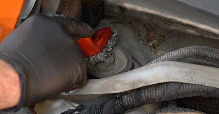 Quanto è difficile il fai da te: sostituzione Molla Ammortizzatore su Fiat Punto 199 1.4 Natural Power 2014 - scarica la guida illustrata