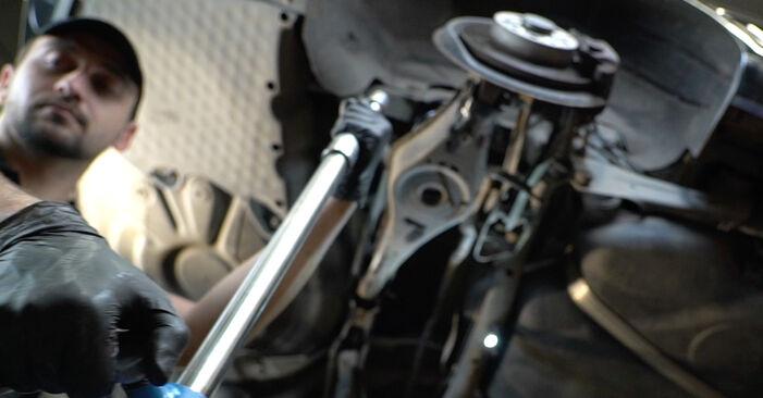 Trinn-for-trinn anbefalinger for hvordan du kan bytte Octavia 1z5 2007 2.0 TDI 4x4 Fjærer selv