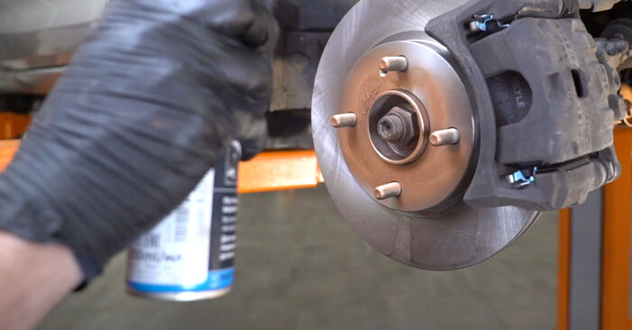 Replacing Springs on Ford Fiesta ja8 2018 1.25 by yourself