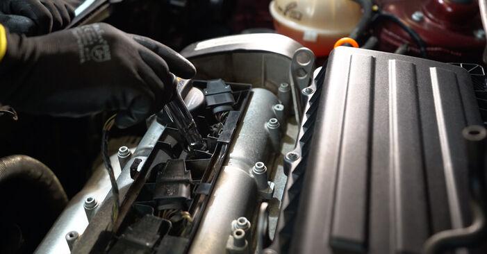 Kuinka vaihtaa Sytytyspuola VW POLO (9N_) 2001 -autoon - vinkkejä