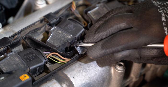 Hvordan man udskifter Tændspole på VW POLO (9N_) 2006: hent PDF manualer og video instruktioner