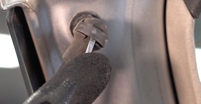 Heckklappendämpfer Polo 9n 1.4 TDI 2003 wechseln: Kostenlose Reparaturhandbücher