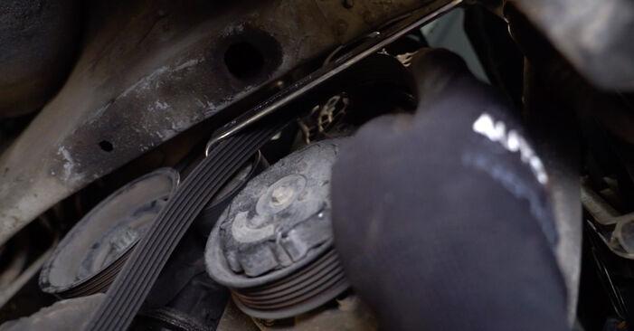 Как да демонтираме VW POLO 1.9 TDI 2005 Многоклинов(пистов) ремък - онлайн лесни за следване инструкции