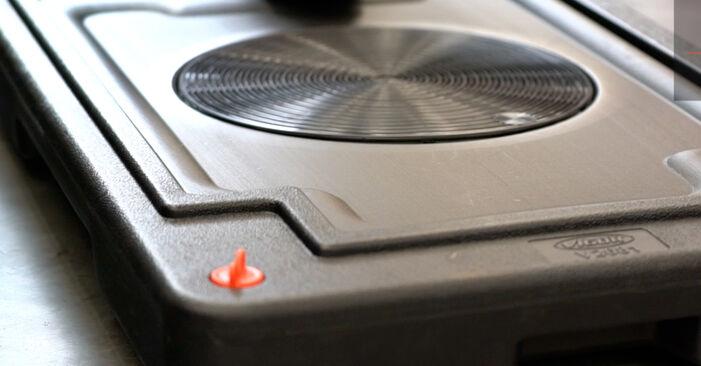 Bremssattel Ihres Polo 9n 1.4 TDI 2009 selbst Wechsel - Gratis Tutorial