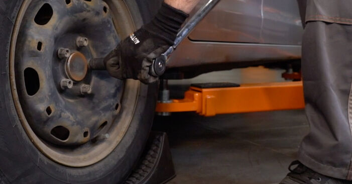 Radlager beim VW POLO 1.2 12V 2008 selber erneuern - DIY-Manual