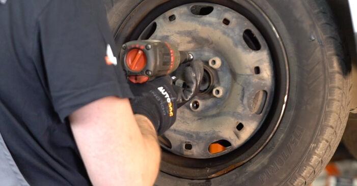 Polo 9n 1.2 12V 2003 Roka zamenjava: brezplačni priročnik delavnice