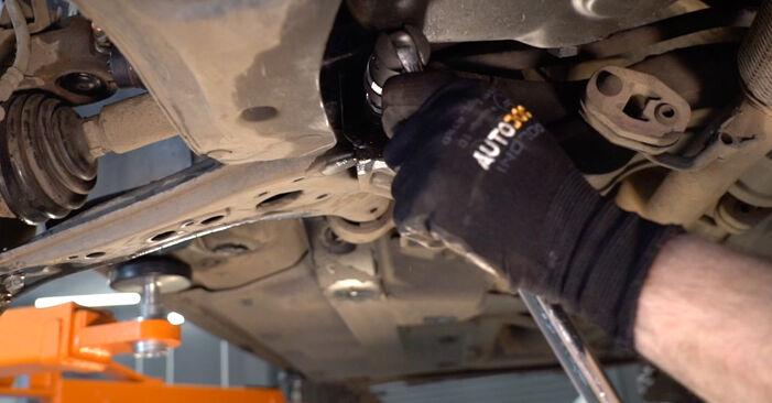 Kako zamenjati Roka na VW POLO (9N_) 2006 - prenesite PDF priročnike in video navodila