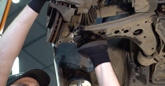 VW POLO 2008 Roka priročnik za zamenjavo s koraki