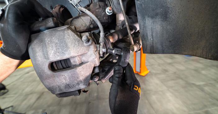 Wechseln Sie Bremssattel beim Touran 1t3 2014 1.6 TDI selber aus