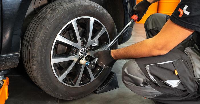 VW TOURAN (1T3) 1.4 TSI 2012 Bremssattel selbst wechseln - Handbuch online