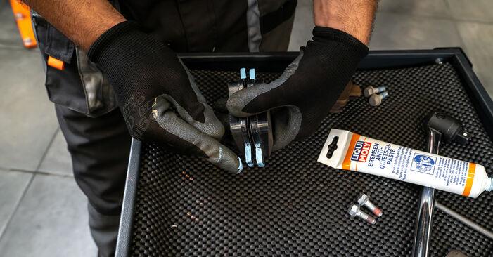 Jak vyměnit Brzdové Destičky na VW TOURAN (1T3) 2010 - tipy a triky