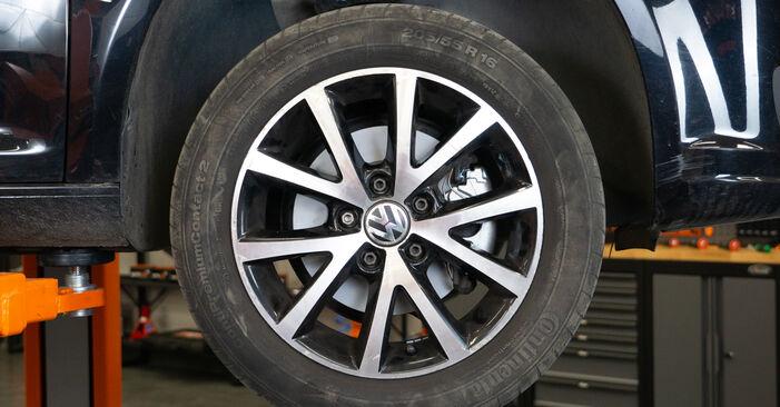 Remblokken VW TOURAN (1T3) 1.4 TSI EcoFuel 2013 zelf verwisselen