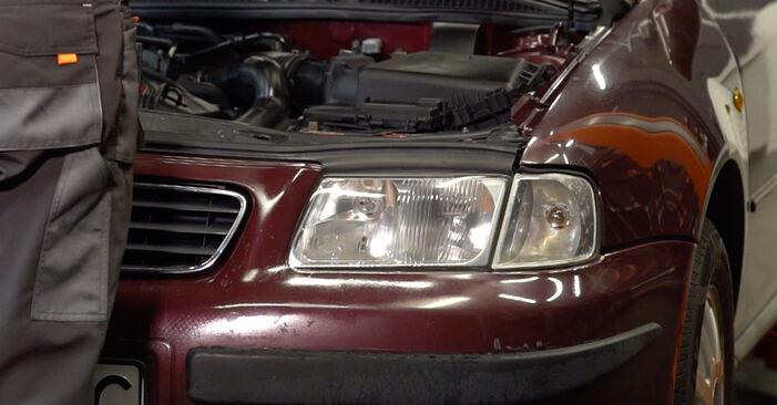 Wie Bremsscheiben Audi A3 8l1 1.9 TDI 1996 tauschen - Kostenlose PDF- und Videoanleitungen