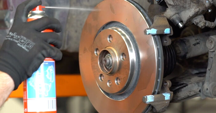 Step-by-step recommendations for DIY replacement Audi A3 8l1 2001 1.8 Brake Discs