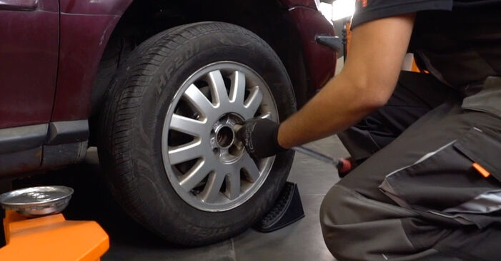 How to remove AUDI A3 1.8 2000 Brake Discs - online easy-to-follow instructions