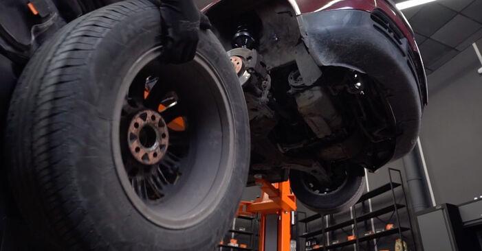 Bremsscheiben am AUDI A3 Schrägheck (8L1) S3 1.8 2001 wechseln – Laden Sie sich PDF-Handbücher und Videoanleitungen herunter