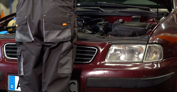 How to change Brake Pads on Audi A3 8l1 1996 - free PDF and video manuals
