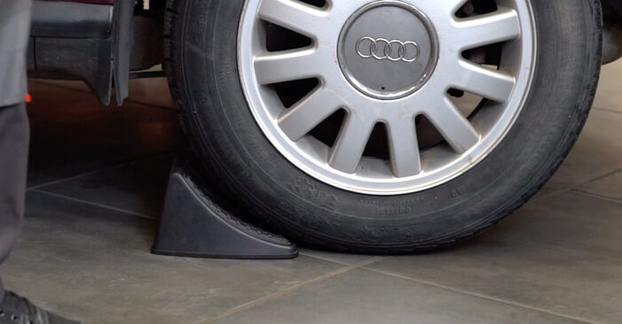How to replace AUDI A3 Hatchback (8L1) 1.9 TDI 1997 Brake Pads - step-by-step manuals and video guides