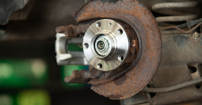 How to remove AUDI A3 1.8 2000 Wheel Bearing - online easy-to-follow instructions