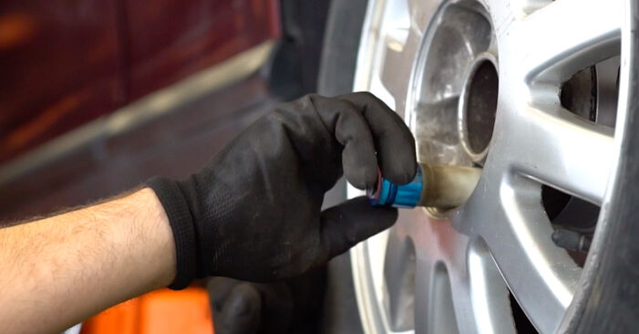How to change Wheel Bearing on Audi A3 8l1 1996 - free PDF and video manuals