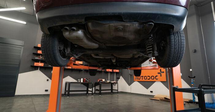 Audi A3 8l1 1.8 T 1998 Strut Mount replacement: free workshop manuals