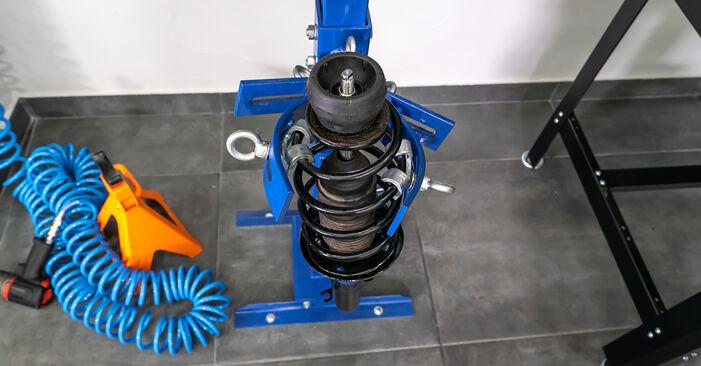 A3 Hatchback (8L1) 1.8 1999 Strut Mount DIY replacement workshop manual