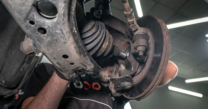How to remove AUDI A3 1.8 2000 Strut Mount - online easy-to-follow instructions