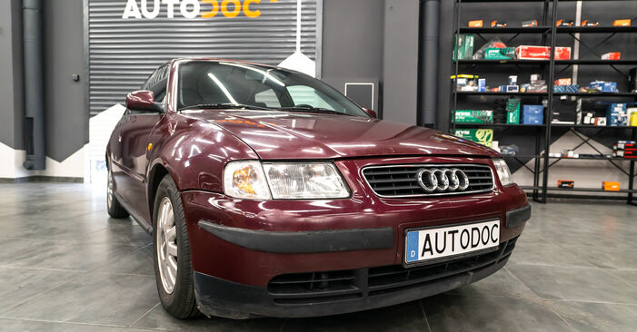 How to replace AUDI A3 Hatchback (8L1) 1.9 TDI 1997 Strut Mount - step-by-step manuals and video guides