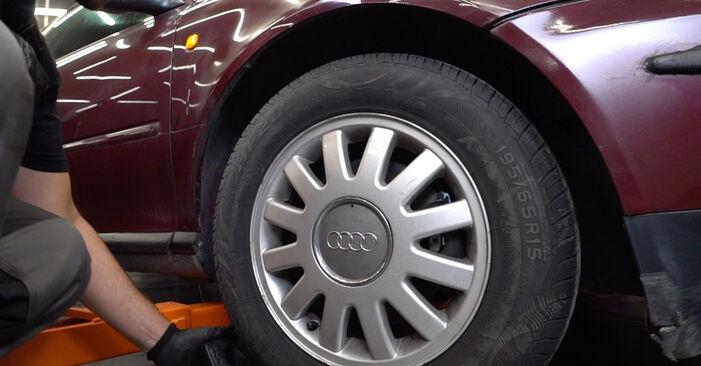 Wie Querlenker Audi A3 8L 1.9 TDI 1996 tauschen - Kostenlose PDF- und Videoanleitungen