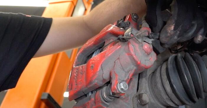 Bremsbeläge Abarth 595 1.4 (312.AXF11) 2010 wechseln: Kostenlose Reparaturhandbücher