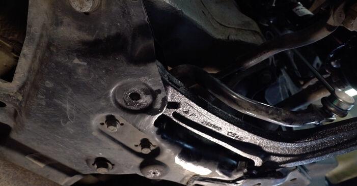 Wie schwer ist es, selbst zu reparieren: Querlenker Abarth 595 1.4 (312.AXT1A) 2014 Tausch - Downloaden Sie sich illustrierte Anleitungen