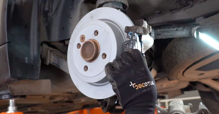 DIY replacement of Brake Pads on MINI Hatchback (R50, R53) 1.6 Cooper S 2003 is not an issue anymore with our step-by-step tutorial