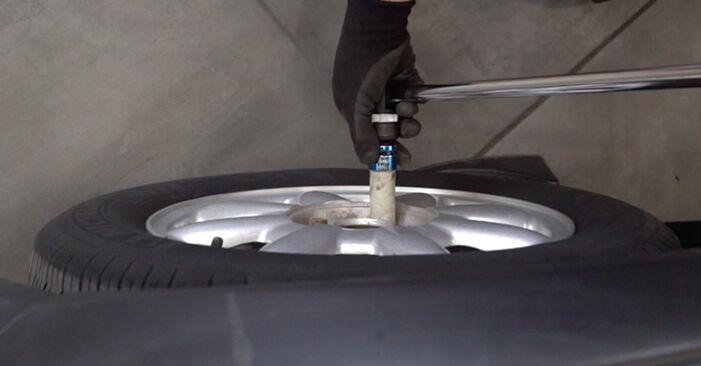 Bremsbeläge Mini R50 1.6 Cooper S 2003 wechseln: Kostenlose Reparaturhandbücher