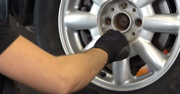 How to change Brake Discs on MINI Hatchback (R50, R53) 2001 - tips and tricks