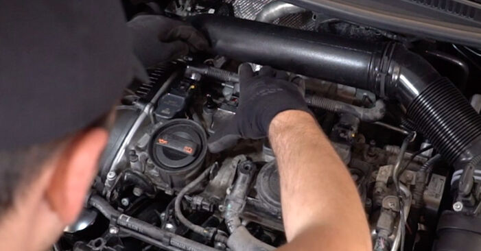 Replacing Ignition Coil on Golf 6 2006 1.6 TDI by yourself