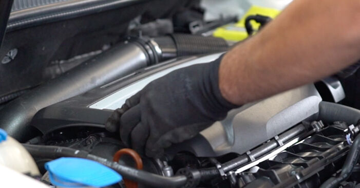 How to change Ignition Coil on VW GOLF VI (5K1) 2008 - tips and tricks