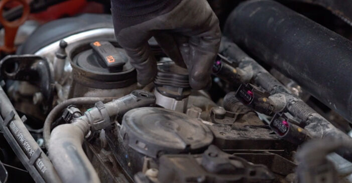 Changing of Ignition Coil on Golf 6 2004 won't be an issue if you follow this illustrated step-by-step guide