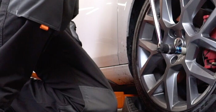 Golf 6 2.0 TDI 2005 Bremsscheiben wechseln: Gratis Reparaturanleitungen
