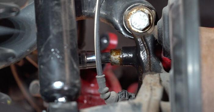 GOLF VI (5K1) 1.4 2007 2.0 TDI Bremsscheiben - Handbuch zum Wechsel und der Reparatur eigenständig