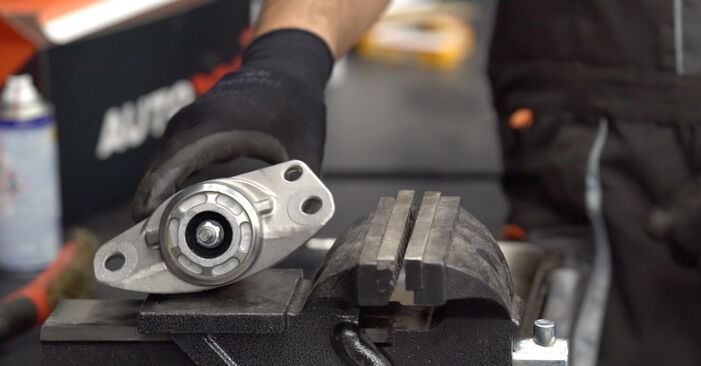 Changing Strut Mount on VW GOLF VI (5K1) 2.0 GTi 2011 by yourself