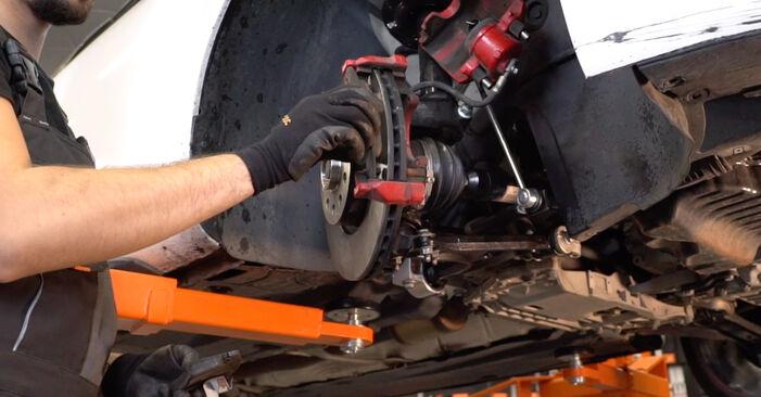 Bytt GOLF VI (5K1) 1.4 2007 Bremseklosser – gjør det selv med vår veiledning