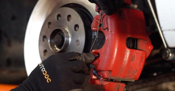 Bytt Bremseklosser på VW GOLF VI (5K1) 2.0 GTi 2006 selv