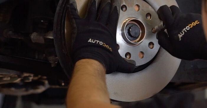 Schimbați Rulment roata la VW GOLF VI (5K1) 2.0 GTi 2006 de unul singur