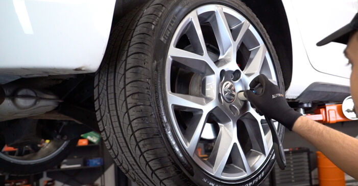 Wechseln Radlager am VW GOLF VI (5K1) 2.0 GTi 2006 selber