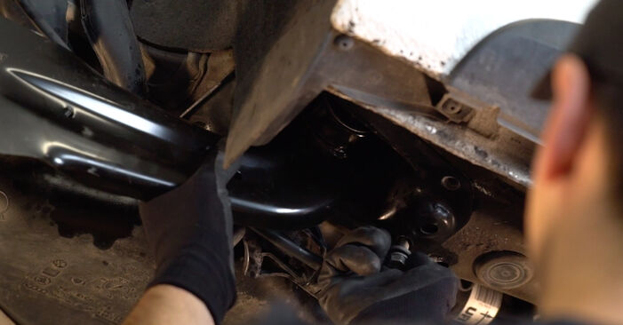 How to replace VW GOLF VI (5K1) 1.6 TDI 2004 Control Arm - step-by-step manuals and video guides